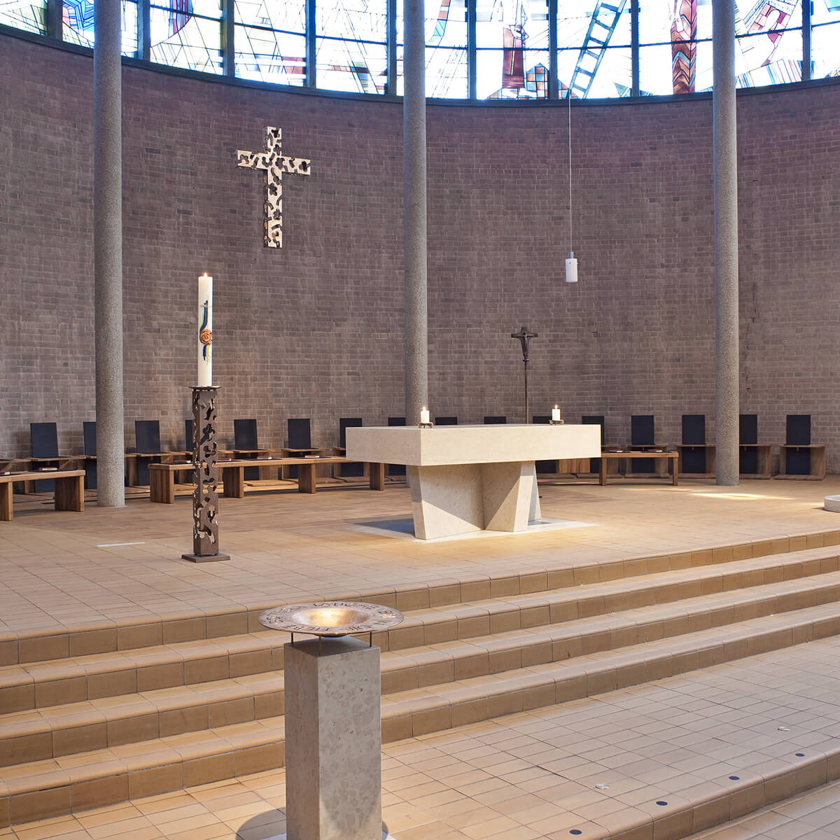 Barbara Jäger OMI Riesterer Werke in Kirchen Bruder Klaus Edingen