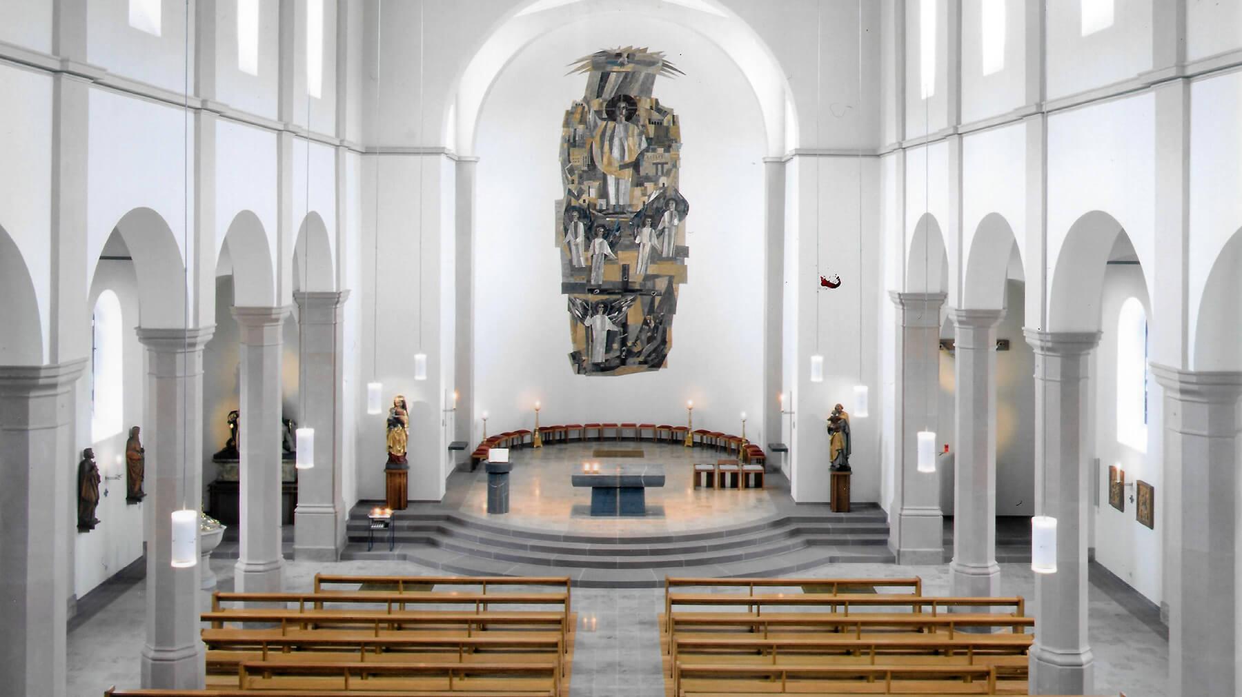 Barbara Jäger OMI Riesterer Werke in Kirchen Kloster St. Michael Bühlertal-Untertal