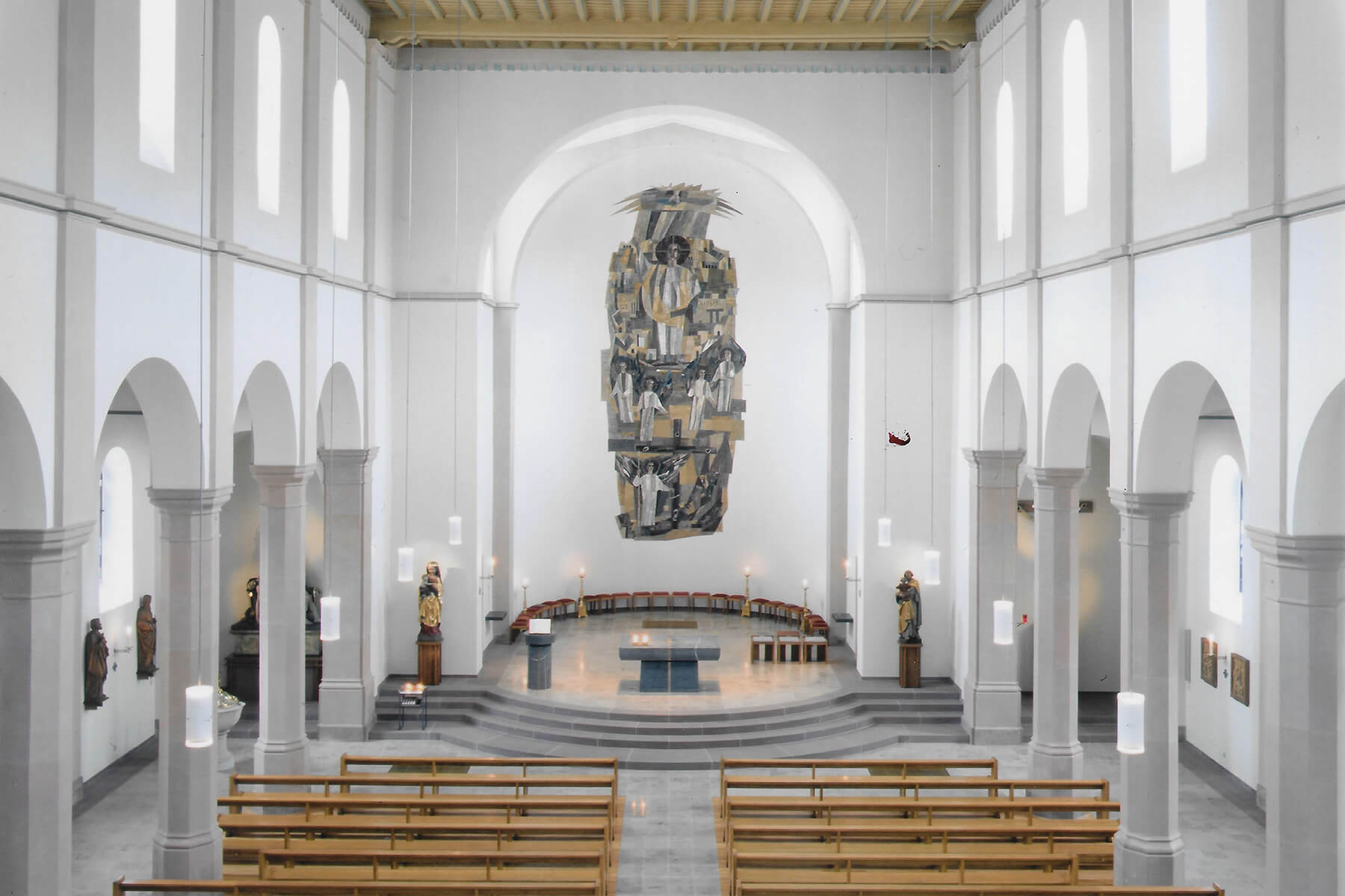 Barbara Jäger OMI Riesterer Werke in Kirchen Buehlertal Untertal