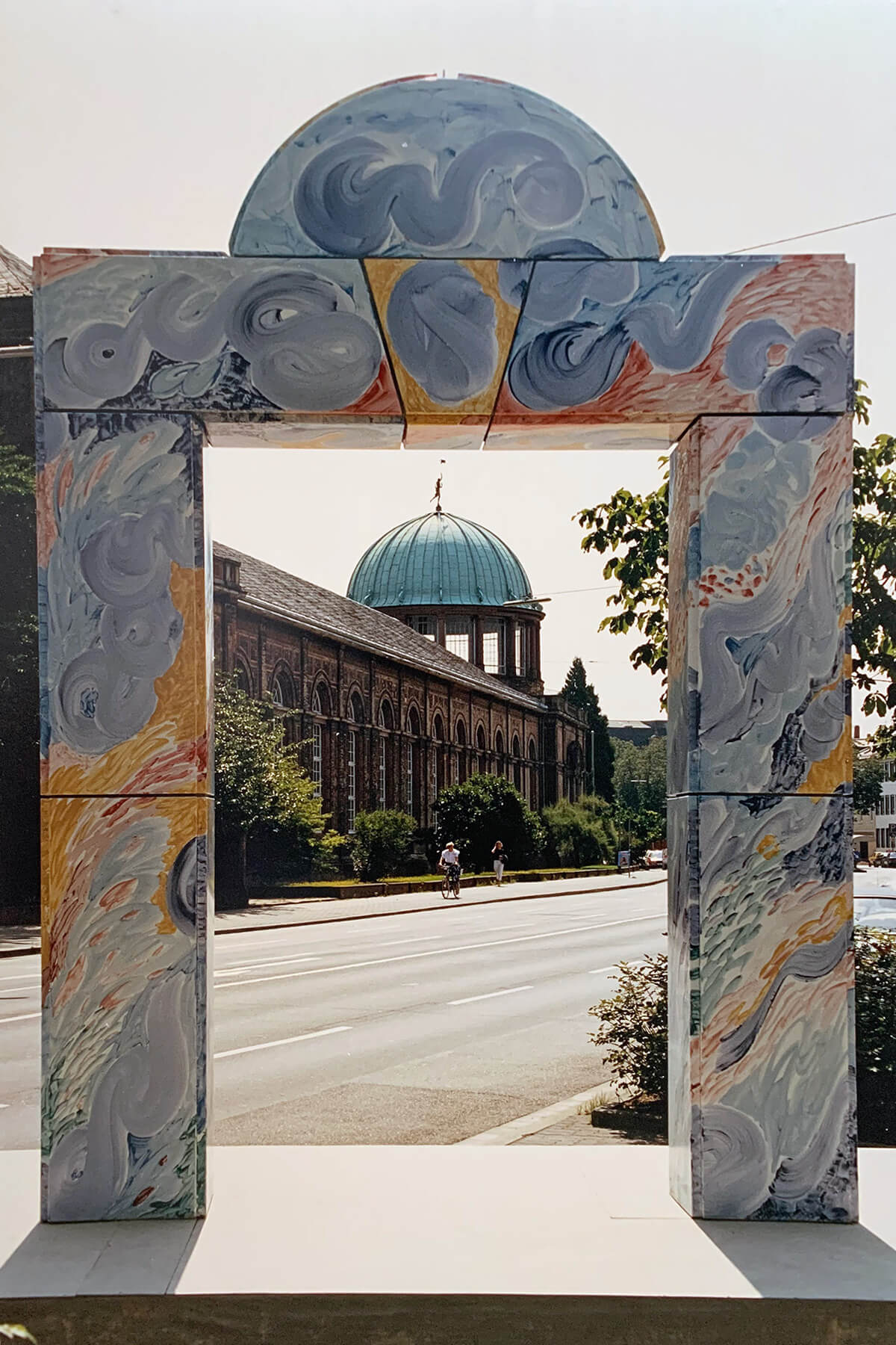 Barbara Jäger OMI Riesterer Gemeinsame öffentliche Werke Karlsruher Tor Linkenheimer Tor