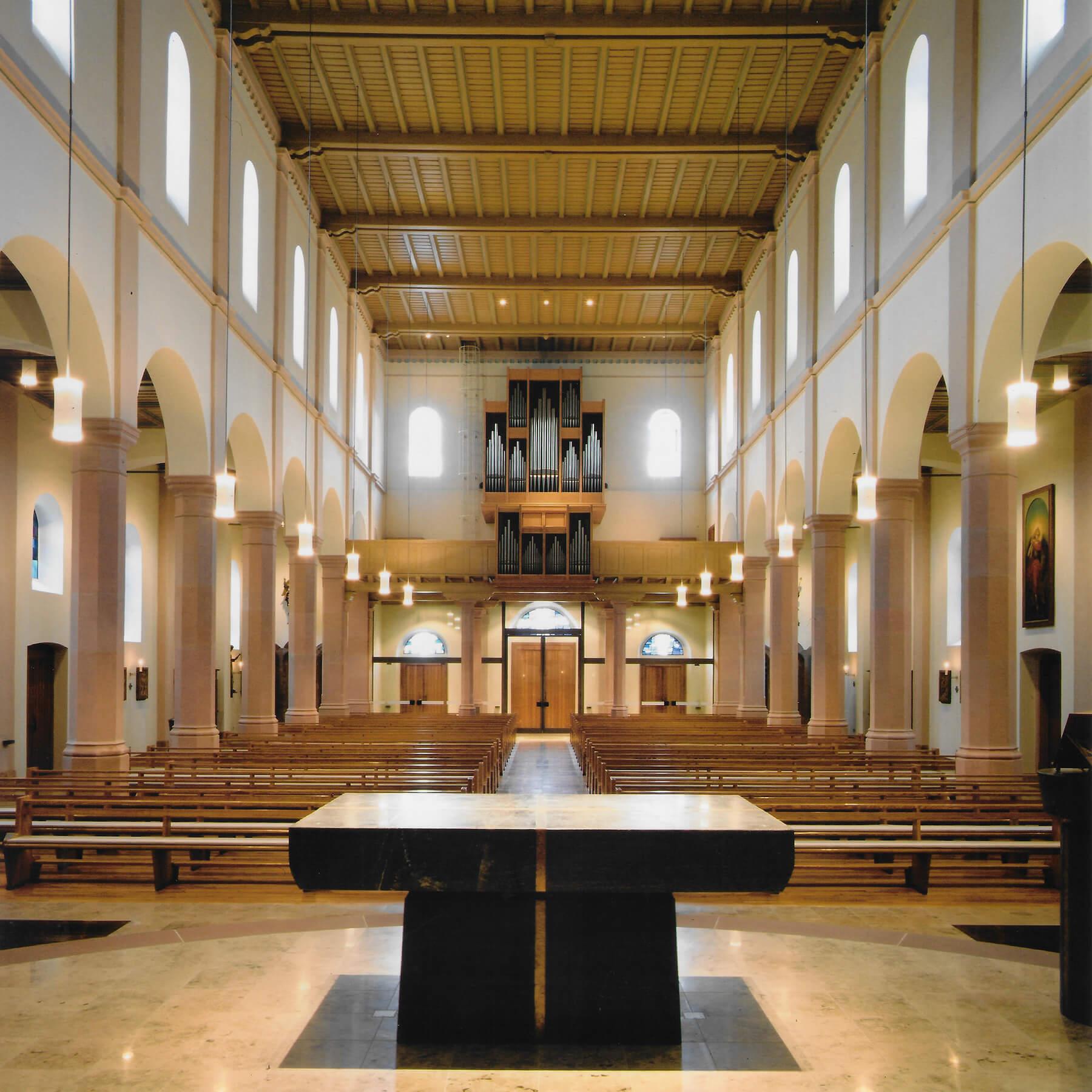 Barbara Jäger OMI Riesterer Werke in Kirchen St. Michael Bühlertal-Untertal