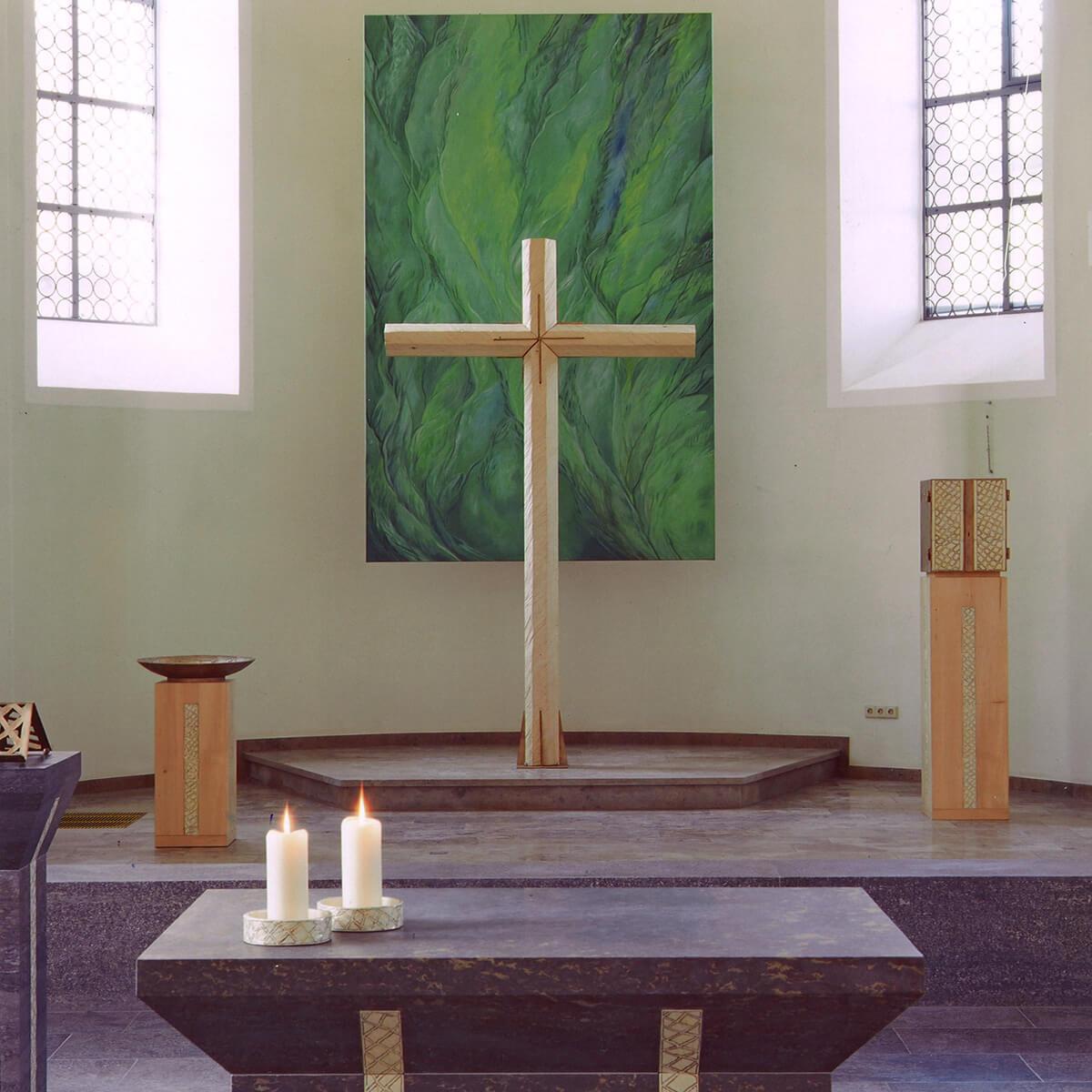 Barbara Jäger OMI Riesterer Werke in Kirchen St. Jakobus Fahrenbach