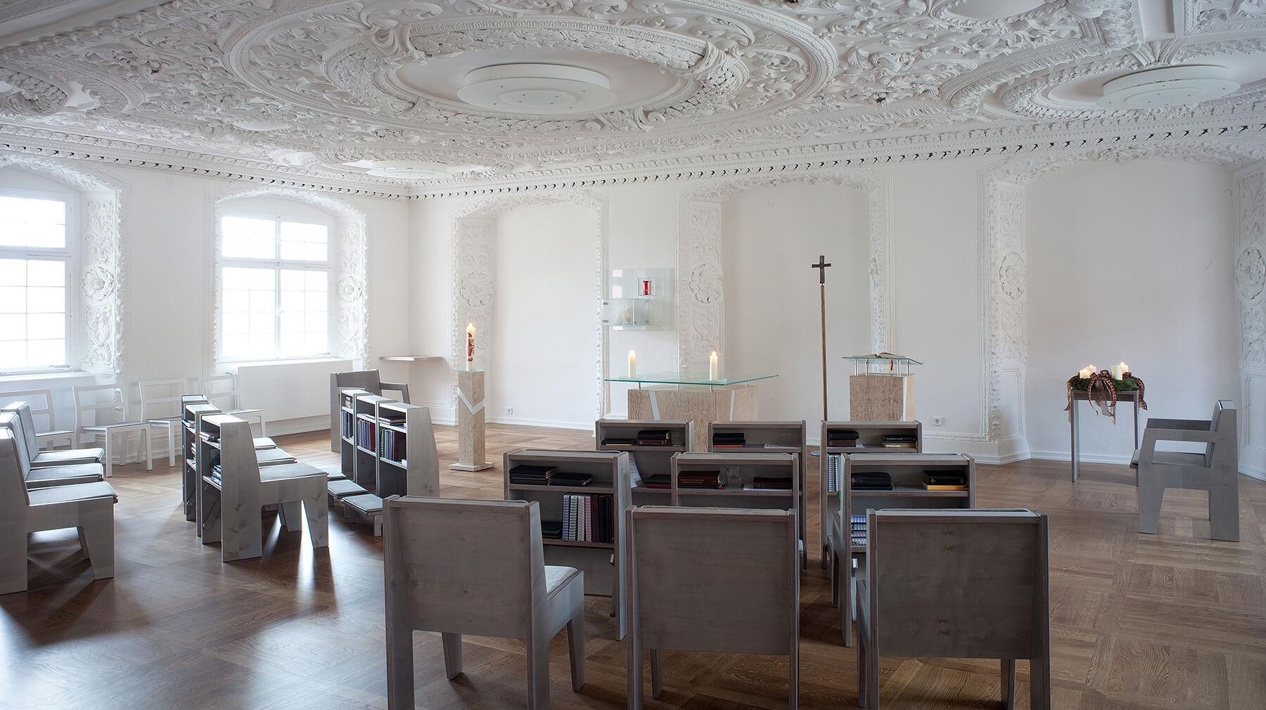 Barbara Jäger OMI Riesterer Werke in Kirchen Lioba Kapelle Kloster Wald