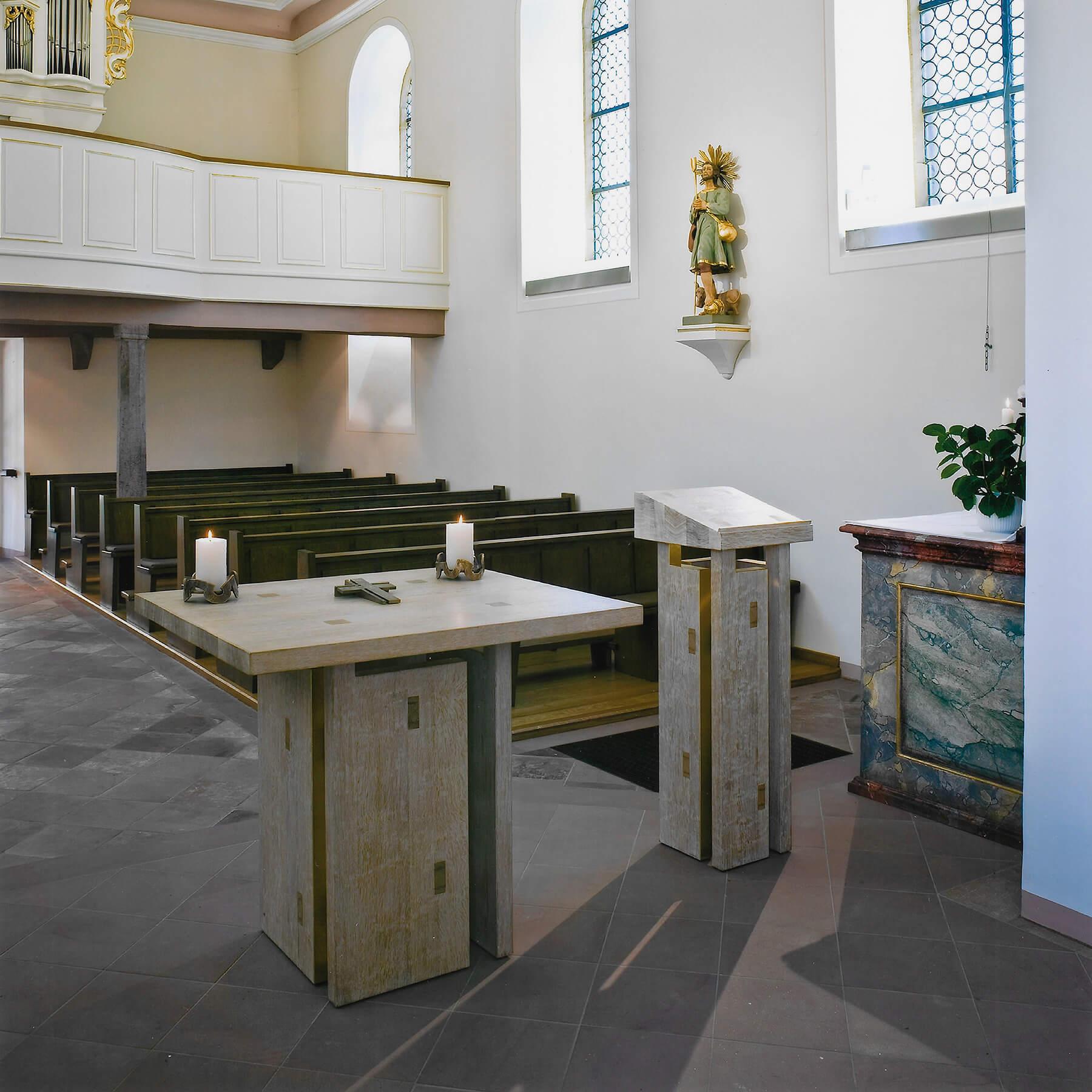 Barbara Jäger OMI Riesterer Werke in Kirchen St. Urban Guttenbach