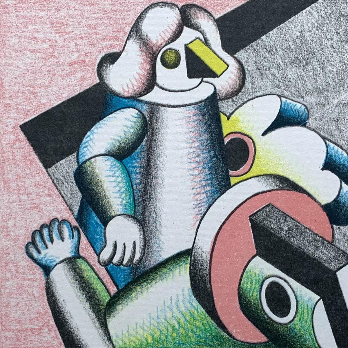 Barbara Jäger Gemälde Figuration Stillleben 1968 - 1970