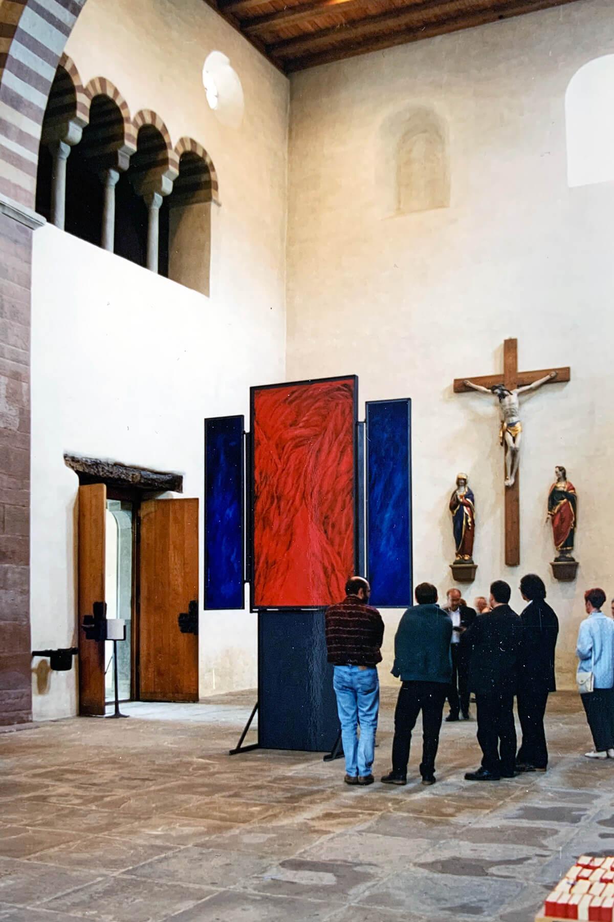 Barbara Jäger Malerei Skulptur Karlsruhe Flügelaltar Münster Reichenau