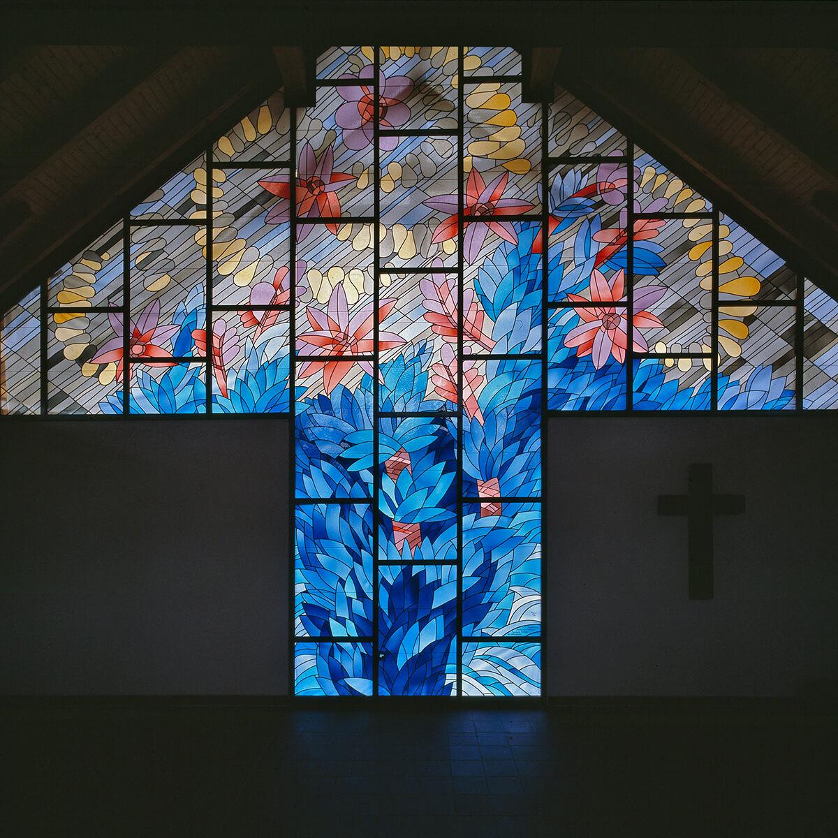 Barbara Jäger Malerei Skulptur Karlsruhe Glasfenster