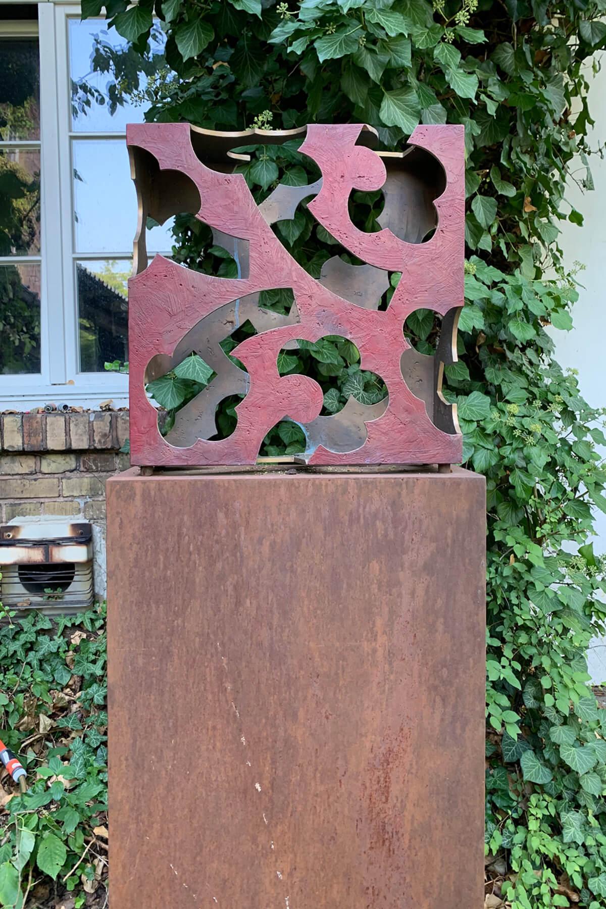 Barbara Jäger Skulpturen Hortus Conclusus Bronzeguß