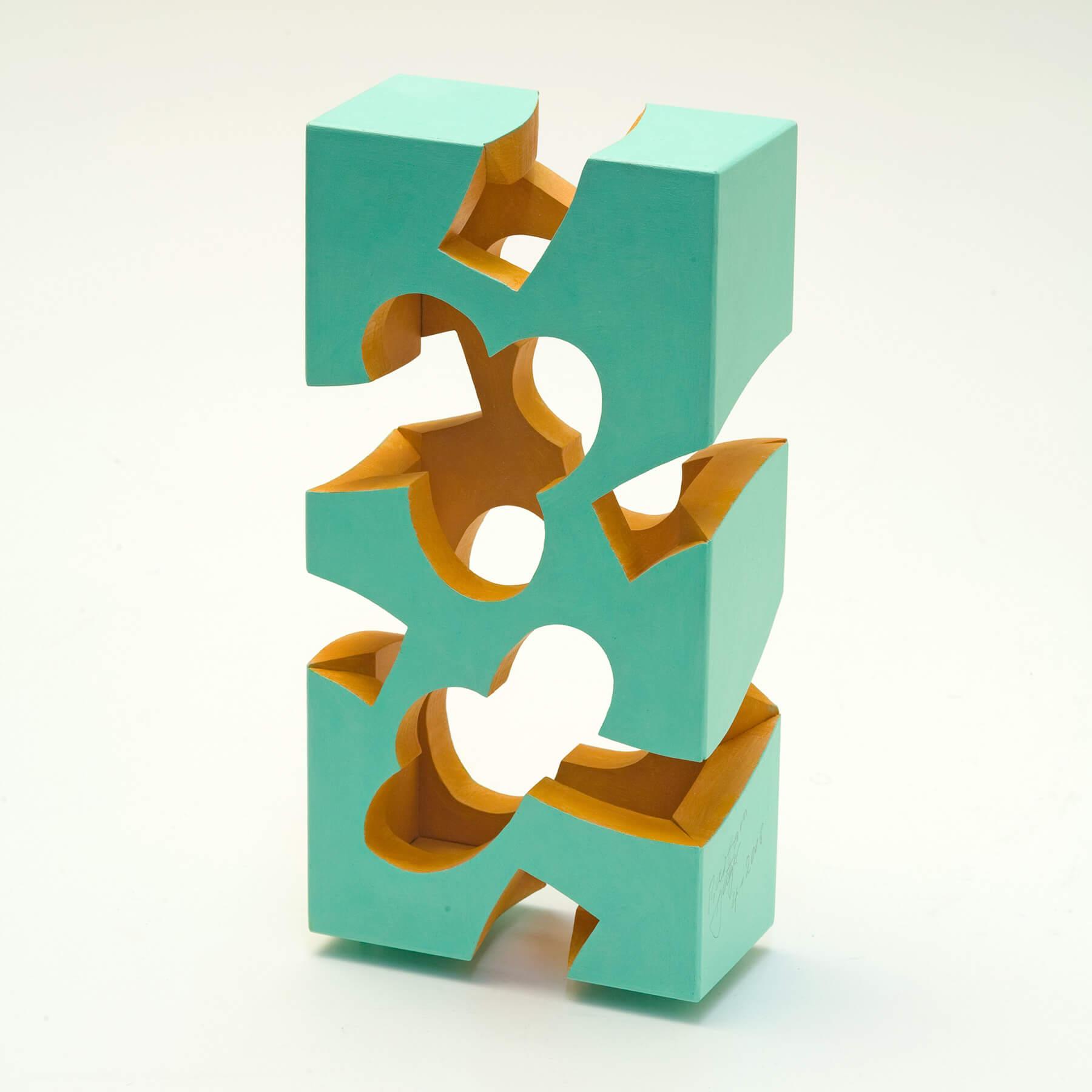 Barbara Jäger Skulpturen Stehende Wand Holz Acryl