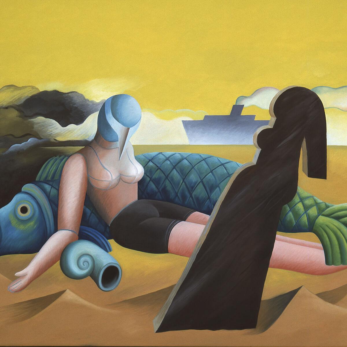 Barbara Jäger Gemälde Magischer Realismus 1970 - 1989