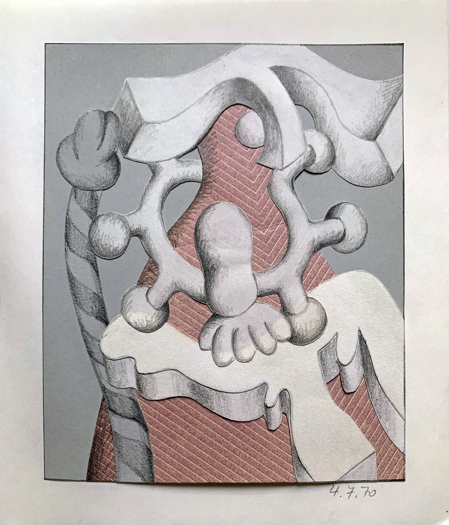 Barbara Jäger Zeichnungen 1970