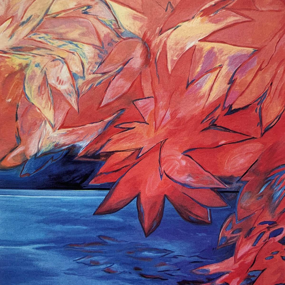 Barbara Jäger Gemälde Expressive Landschaften 1990 - 2009