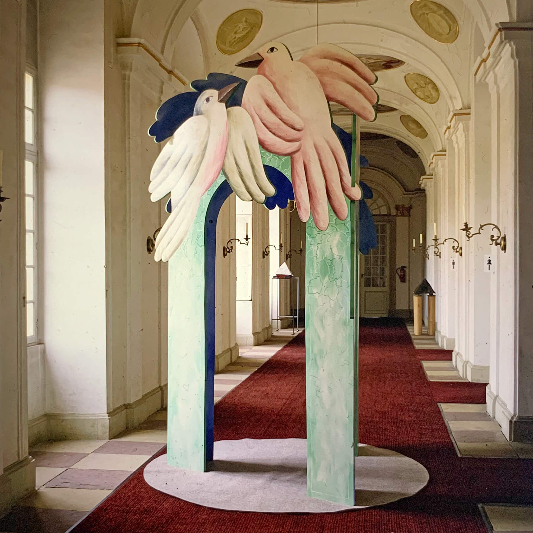 Barbara Jäger Malerei Skulptur Karlsruhe Vogeltor Schloß Ludwigsburg