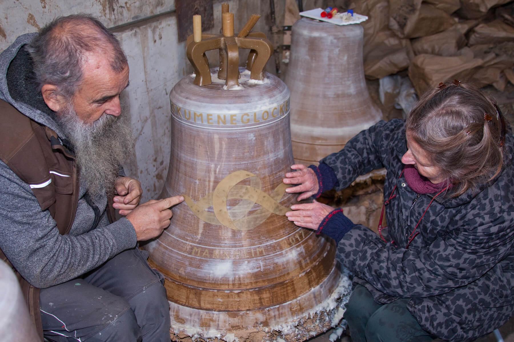Barbara Jäger OMI Riesterer Werke in Kirchen Glockenzier