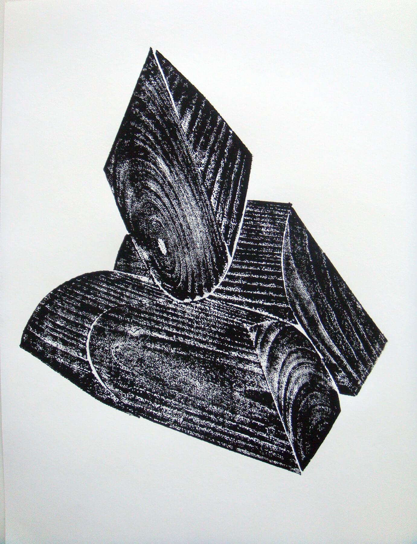 OMI Riesterer Grafik Karlsruhe Holzdruck