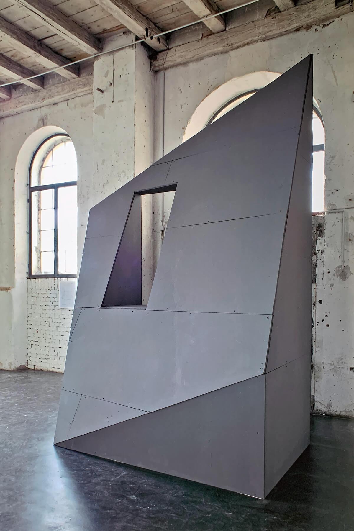 Bildhauer OMI Riesterer Karlsruhe Projekte Großes Fenster Orgelfabrik Durlach