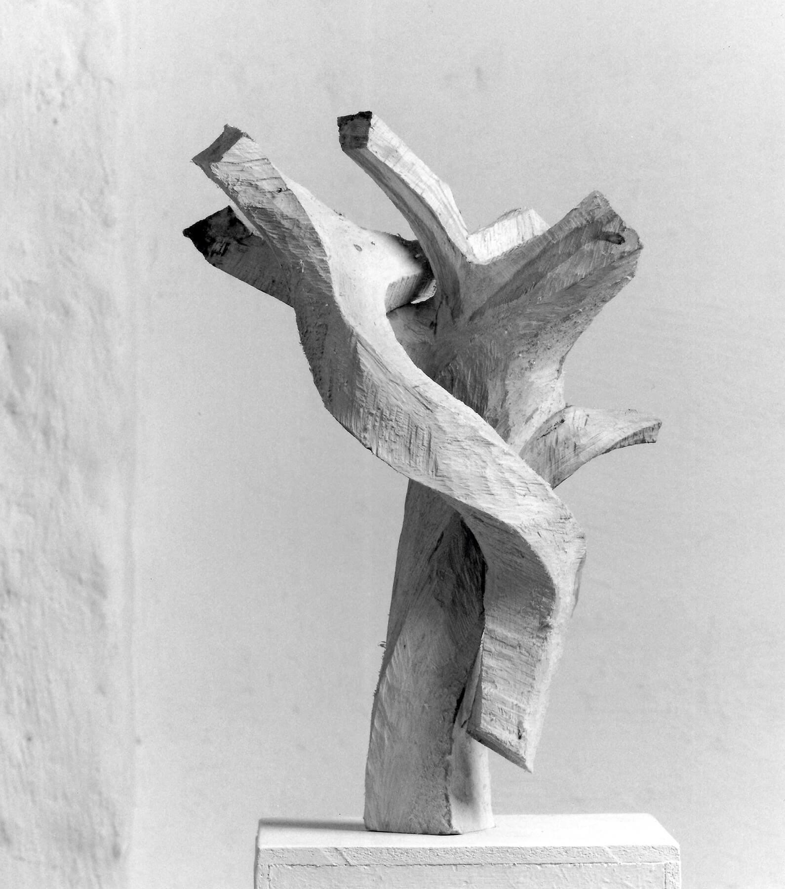 Bildhauer OMI Riesterer Skulpturen Winterreise Schubert Kiefer