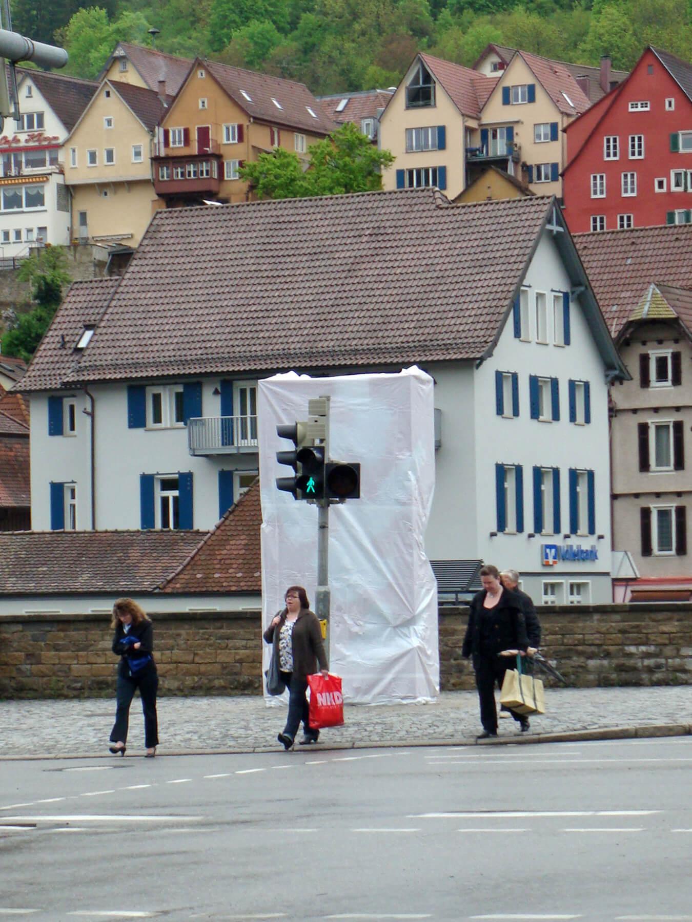Barbara Jäger Malerei Skulptur Karlsruhe Neckarblüte Horb am Neckar Künstlerisches Stadtzeichen Stahl