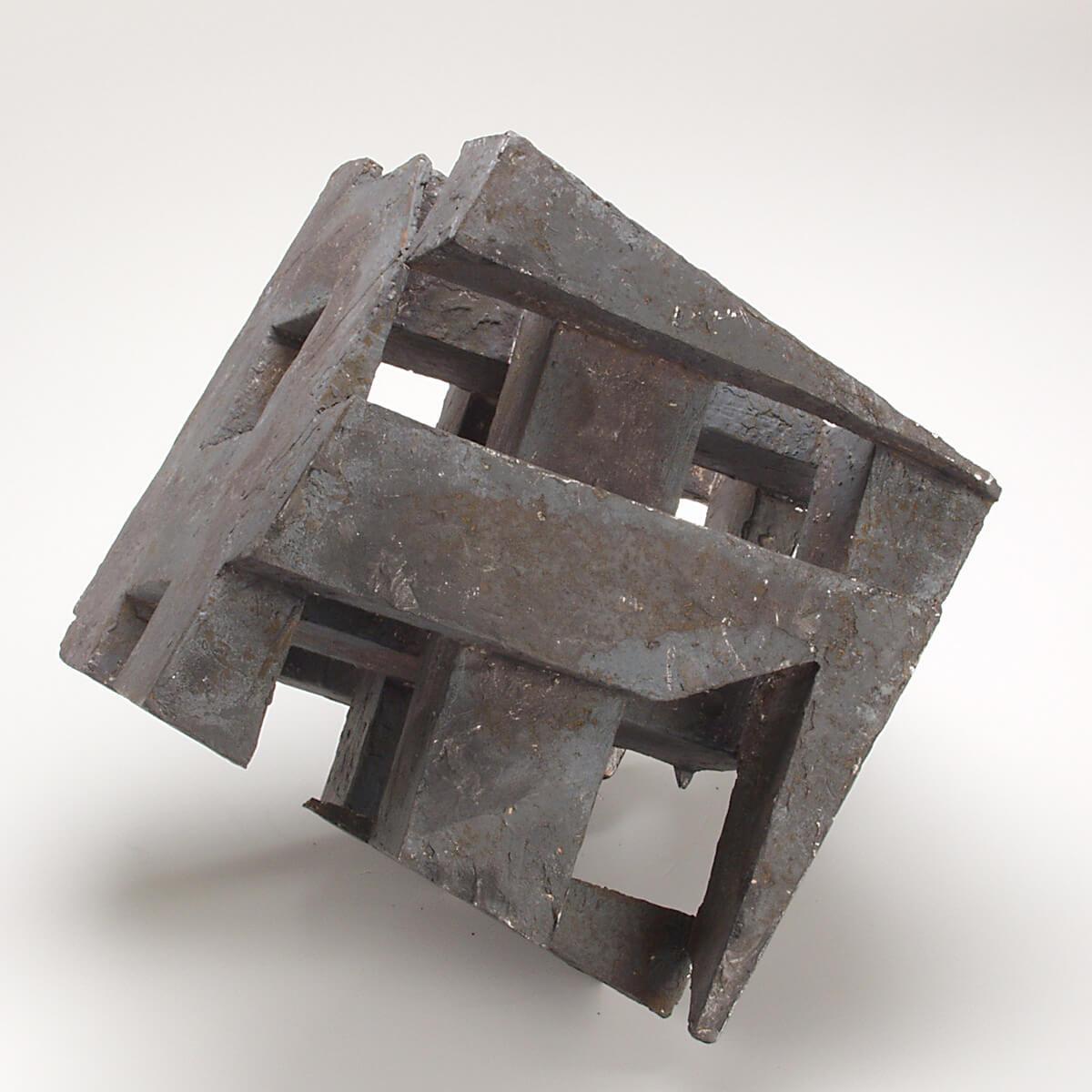Bildhauer OMI Riesterer Skulpturen Würfel Eisen